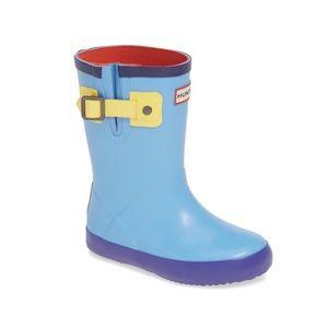 Hunter Buckle Strap Waterproof Rain Boot